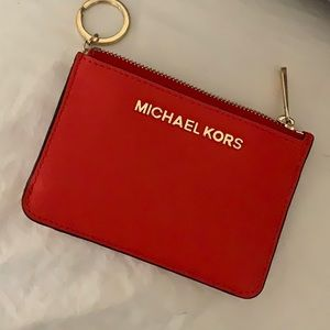 Michael Kors keychain wallet/coin purse